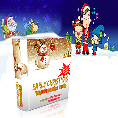 Christmas Websites & Graphics Pack - inklusive Master Reseller Lizenz
