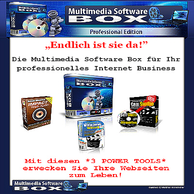Multimedia Software Box - Professional Edition