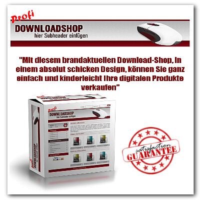 Profi Download-Shop - brandaktuell in einem schicken Design! - Master Reseller