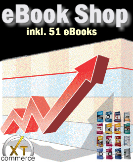eBook Shop (xtCommerce) mit 51 eBooks inklusive Master Reseller Lizenz